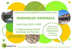 Invitation AG 2016 EnergETHIC