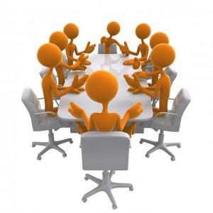 Persos en réunion