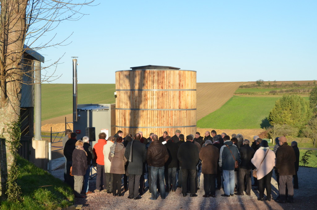 inauguration chaufferies bois de Quelmes et Zudausques