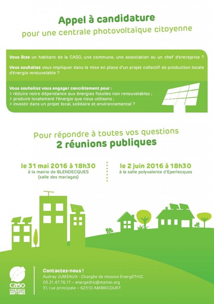 réunions d information CASO _ solaire citoyen
